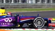 Sebastian Vettel (GER) Red Bull Racing RB9 07.09.2013