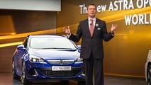 Opel Astra OPC live in Geneva 07.3.2012