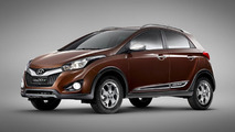 Hyundai HB20X crossover debuts at Sao Paulo Motor Show