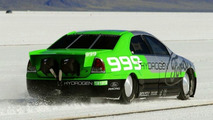 Ford Fusion Hydrogen 999 Sets World Speed Record
