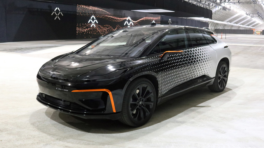 Faraday FF 91 will challenge Tesla Model S P100D at Pikes Peak
