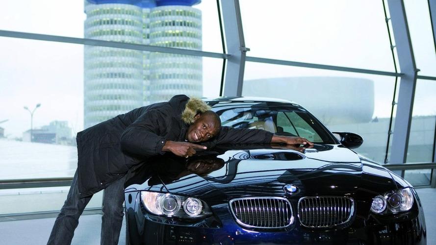 Olympic Champion Usain Bolt Settles on BMW M3