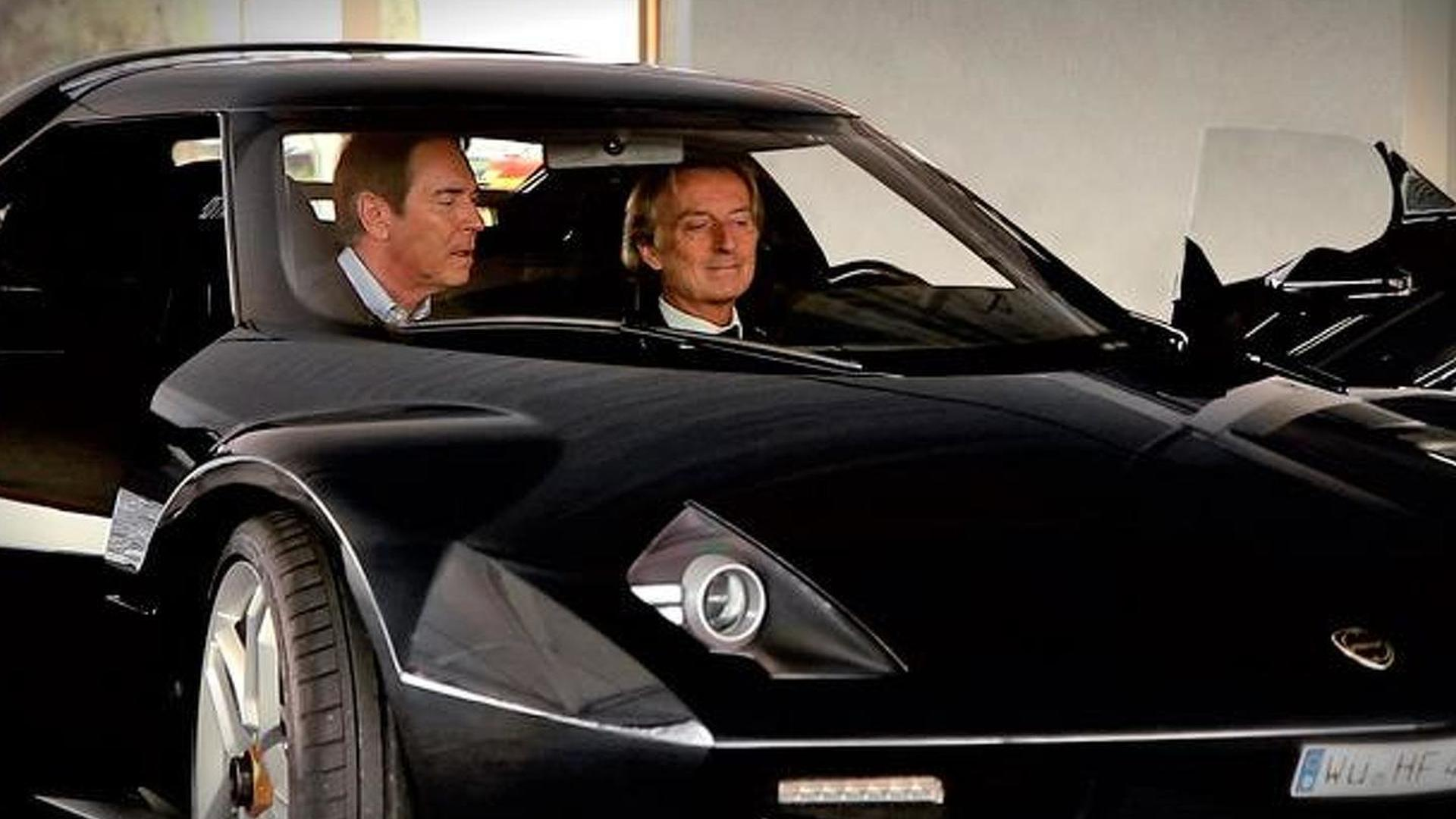 Ferrari chief drives the new Lancia Stratos revival [video]