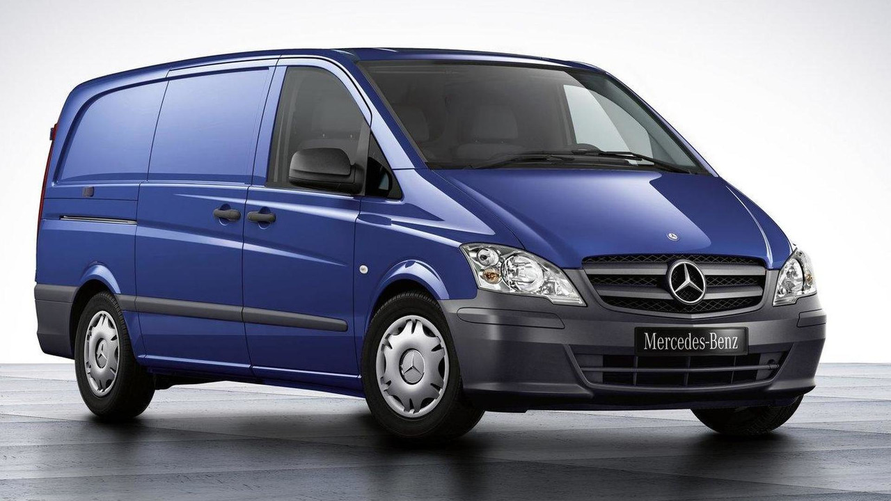 2011 Mercedes-Benz Vito facelift first photo 02.07.2010