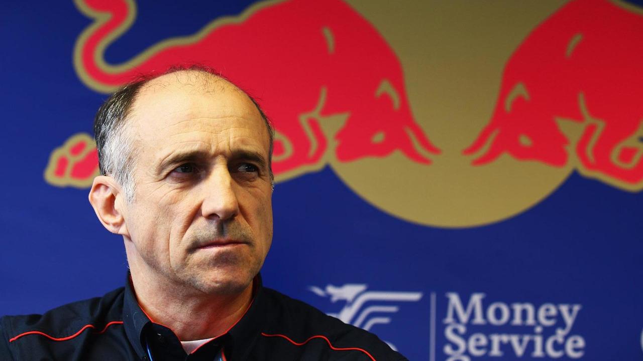 Scuderia Toro Rosso Team Principal Franz Tost