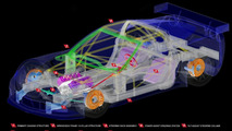 Shared body components of Corvette ZR1 and C6.R 08.03.2010