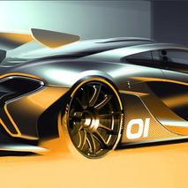 McLaren Teases 980HP Track-Only P1 GTR
