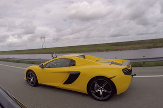 Watch a Tesla P85D Go Up Against a McLaren 650S