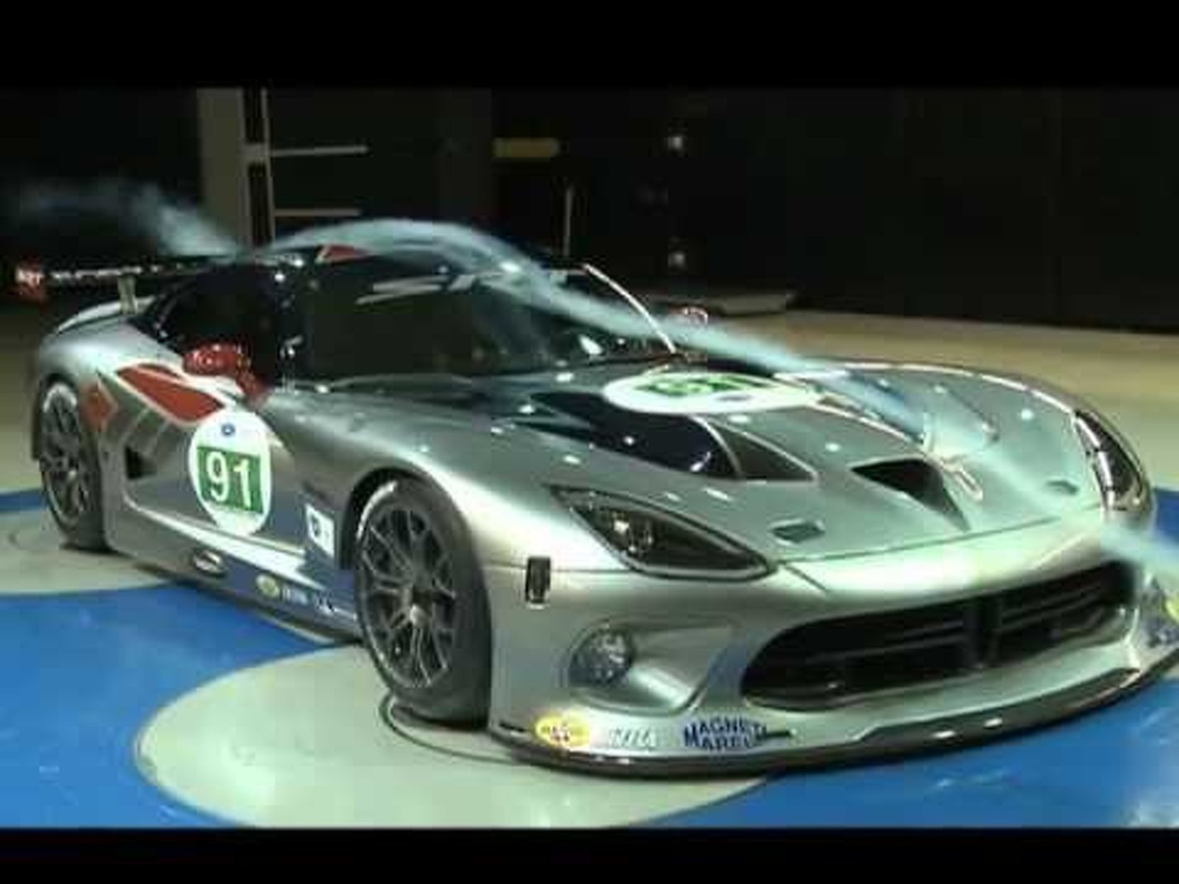 SRT Viper GTS-R Wind Tunnel