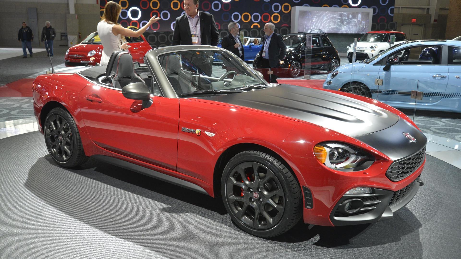 2017 Fiat 124 Spider Elaborazione Abarth Debuts In New York