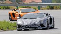 Lamborghini Aventador Roadster facelift spotted with multiple aero tweaks
