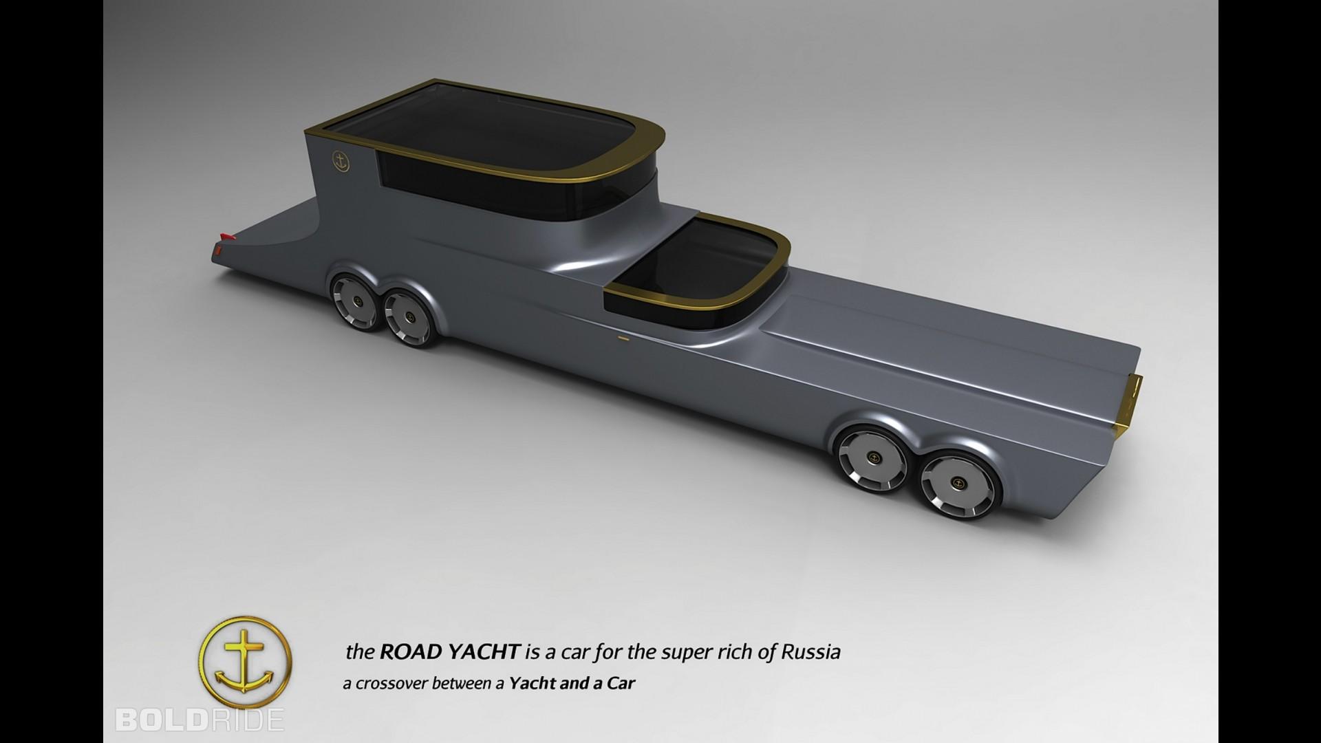 Road Yacht Concept by Michael van Vuuren
