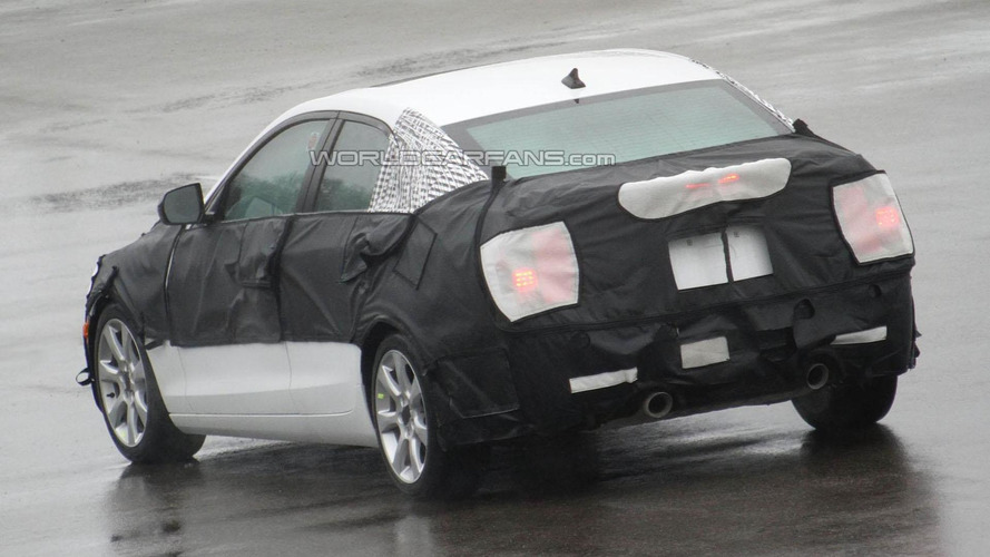 2013 Cadillac ATS spied