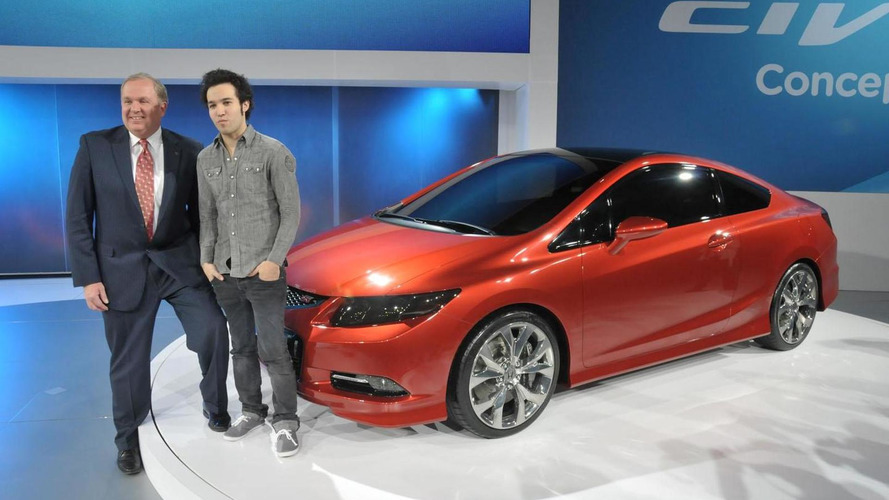 2012 Honda Civic Si Coupe and Civic Sedan Concepts debut in Detroit
