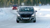 New Opel Corsa Spy Photos