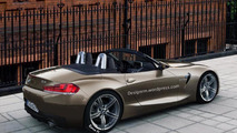 2017/2018 BMW Z4 roadster imagined