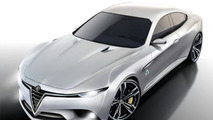 Alfa Romeo Giulia renders look too good to be true