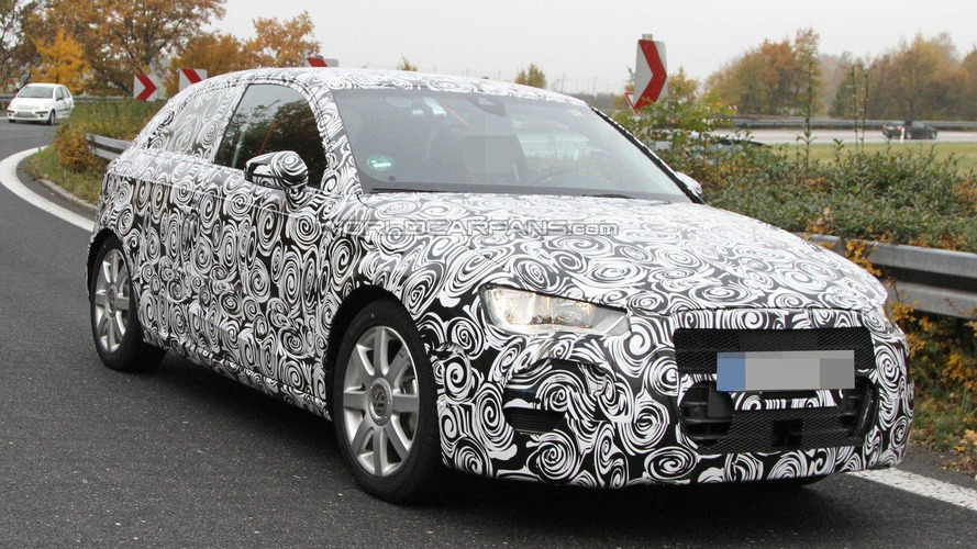 2013 Audi A3 spied with undisguised interior