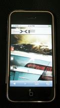 Jaguar XF Magazine iPhone