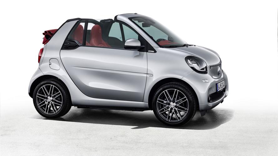 Smart - Une édition limitée pour les Fortwo Cabrio Brabus et Forfour