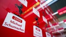 Ferrari list of World Champions including Michael Schumacher