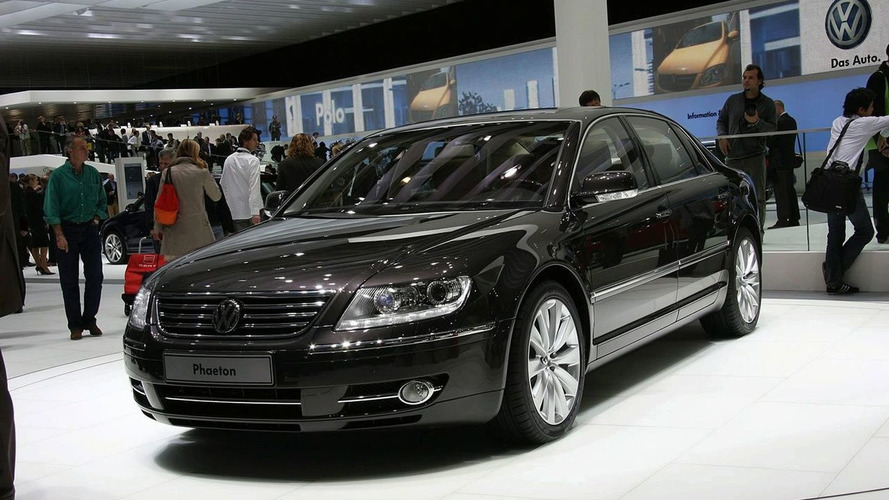 Industry experts surprised by Volkswagen's stubbornness to keep the Phaeton alive