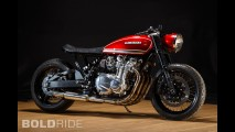 Krakenhead Customs 'Red Rooster' Kawasaki Kz1000