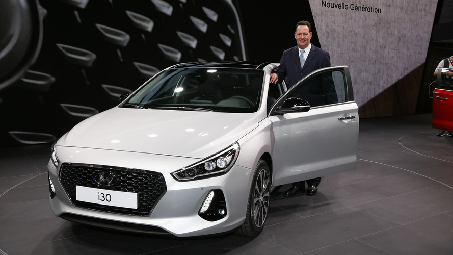 2017 Hyundai i30 makes Paris debut