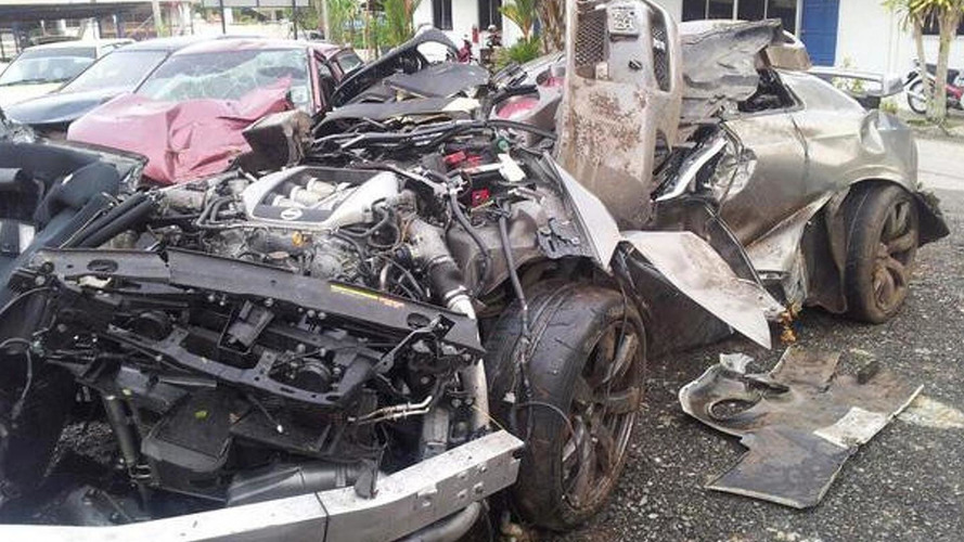 Four people died after two Nissan GT-Rs crashed in Malaysia