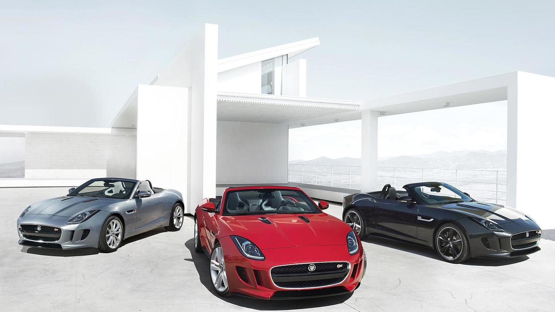 Jaguar F-Type tested by Brundle, Danner and Bell [video]