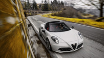 2016 Alfa Romeo 4C and 4C Spider