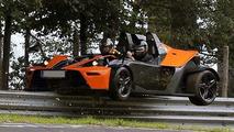 KTM X-Bow Crashed at Nurburgring