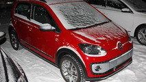 Volkswagen Cross Up! spied without camo