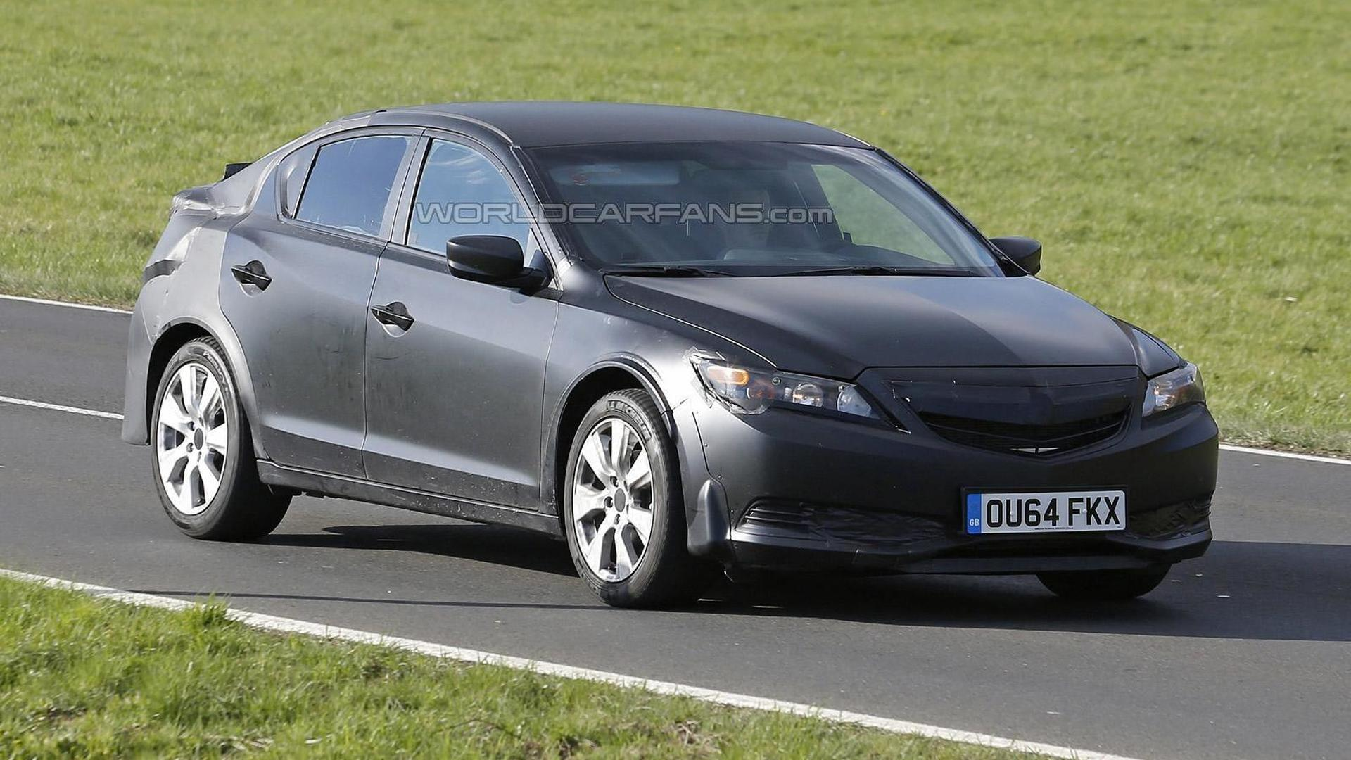Next generation Honda Civic test mule spied in Germany