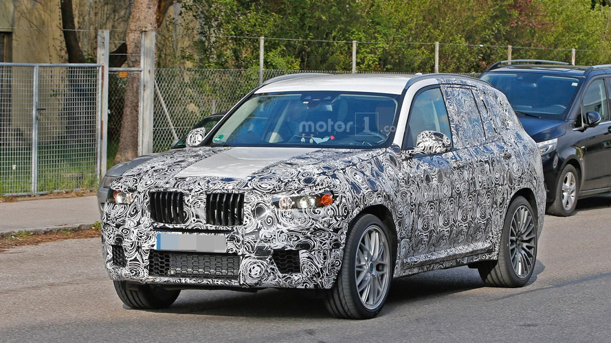 2018 BMW X3 M spied for the first time