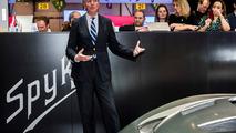 Victor Muller at Geneva Motor Show 2016