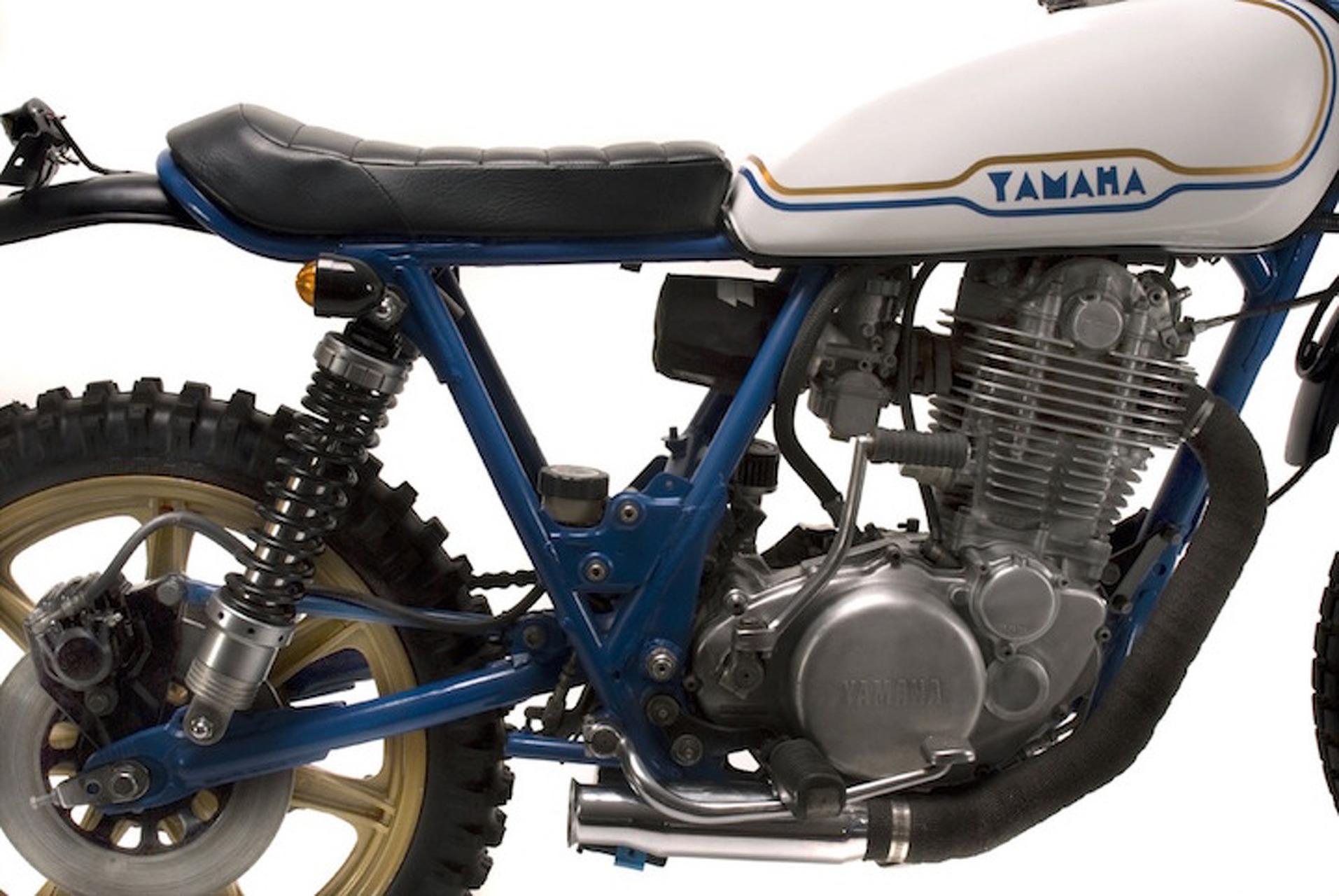 This 1978 Yamaha SR500 Custom is a Beautiful Bargain