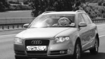 Speeding Muppet