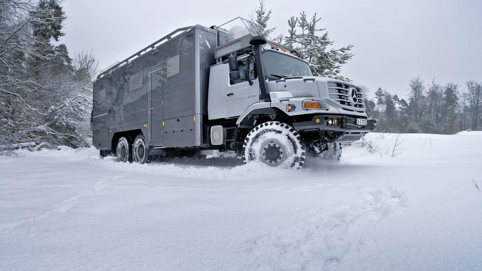 Mercedes-Benz Zetros 6X6 truck - for the Mongolian outback
