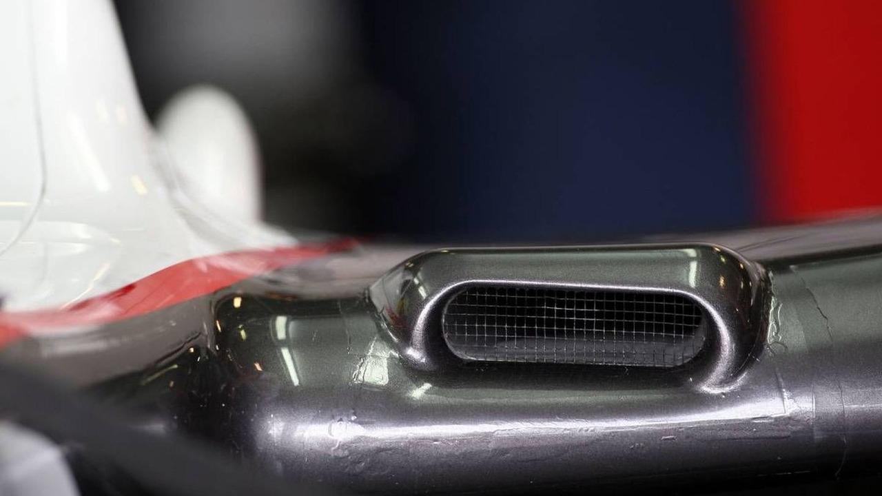 F duct aero feature on the BMW Sauber F1 Team, C29, Australian Grand Prix, 26.03.2010 Melbourne, Australia