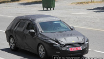 Peugeot 508 spied in Station Wagon form