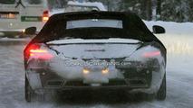 Mercedes SLS AMG Roadster First Spy Photos Winter Testing 15.12.2009