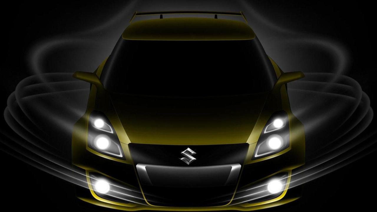 Suzuki Swift S-Concept teaser preview 09.02.2011