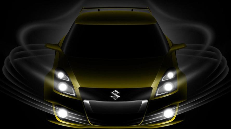 Suzuki Swift S-Concept teased for Geneva reveal