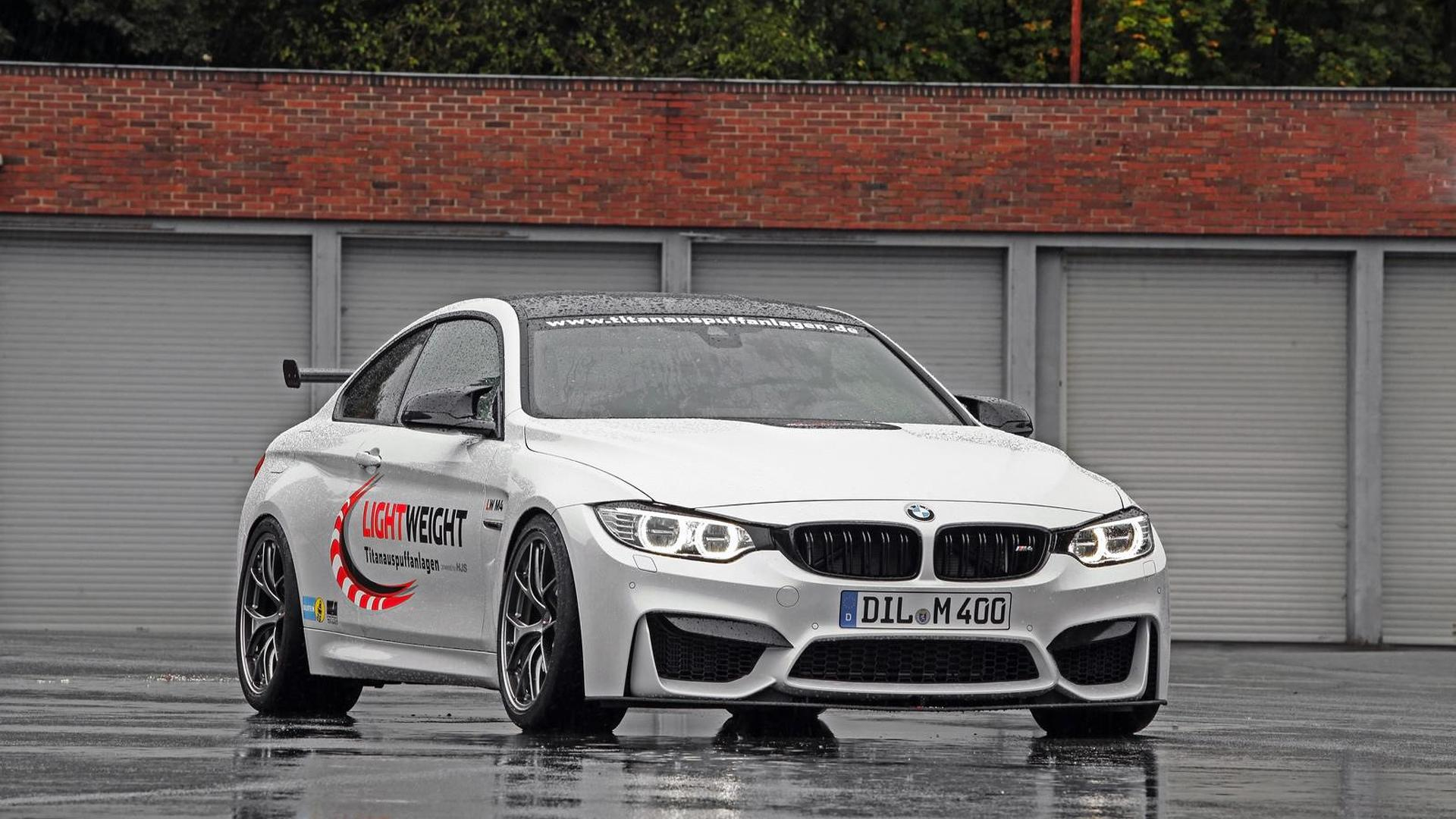 BMW M4 Coupe upgraded to 520 HP by Lightweight