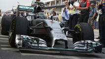 Germany 'not Rosberg's home race' - Hamilton