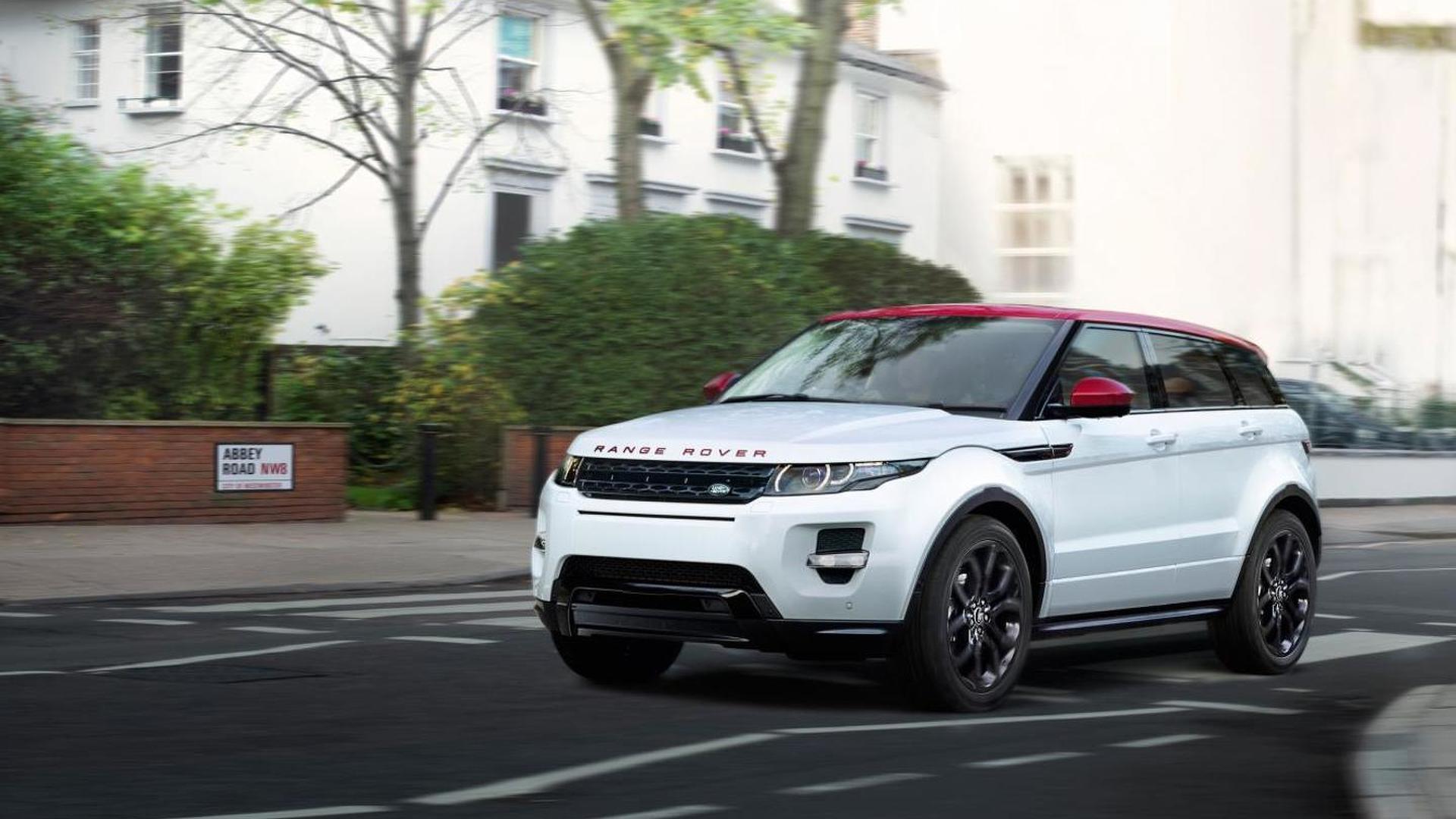 Land Rover reveals Range Rover Evoque NW8 special edition