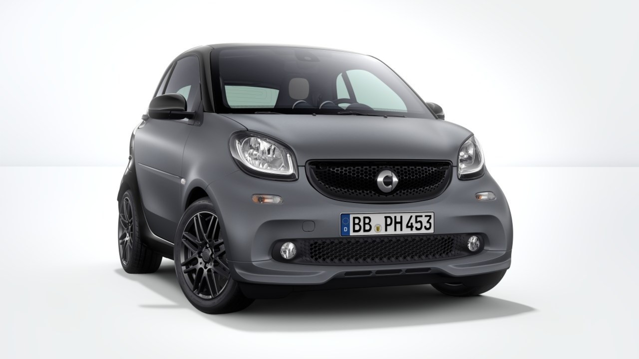 smart fortwo gains brabus sport package for 2017my. Black Bedroom Furniture Sets. Home Design Ideas