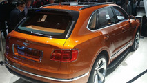 Bentley Bentayga live in Frankfurt 2015