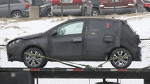Fiat Punto successor spy photo